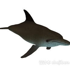 鲨鱼玩具3d模型下载
