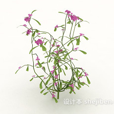 绿化带植物花草3d模型下载