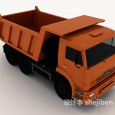 货物运输车3d模型下载