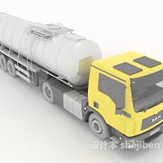大型货物卡车3d模型下载