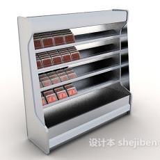 冰柜货架3d模型下载