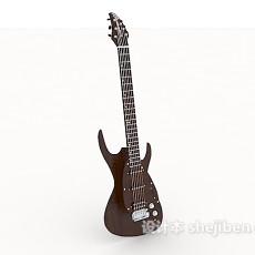个性吉他3d模型下载