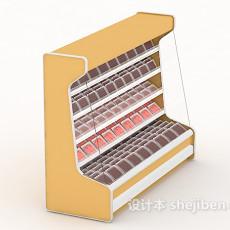 超市冰箱冰柜3d模型下载