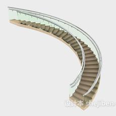 商场楼梯3d模型下载