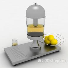 家庭榨汁机3d模型下载