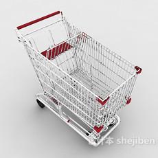 常见超市购物车3d模型下载