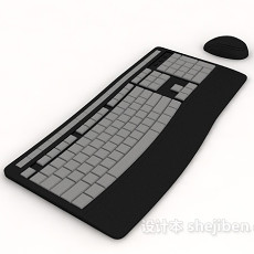 键盘鼠标3d模型下载