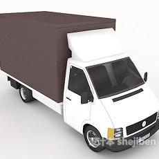 邮件运输车3d模型下载