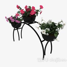 装饰花架3d模型下载