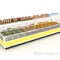 大型冰箱冰柜3d模型下载