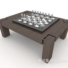 游戏茶几桌3d模型下载