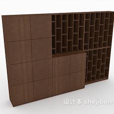 简约酒柜、储物柜3d模型下载