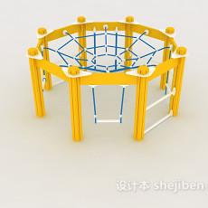 儿童游乐场设施3d模型下载