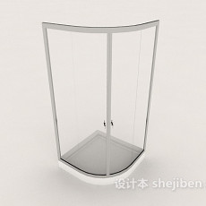 家庭简约浴室3d模型下载