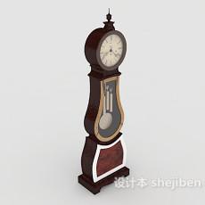 欧式钟表摆设3d模型下载