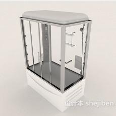 玻璃沐浴房3d模型下载