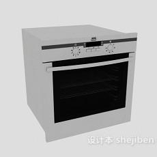 家庭微波炉3d模型下载