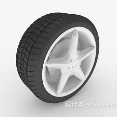 零件车轮胎3d模型下载