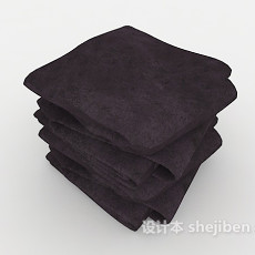 卫浴室毛巾3d模型下载