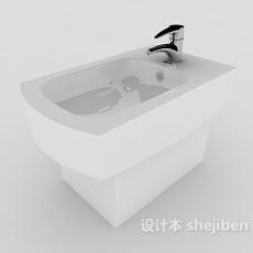 公厕洗手池3d模型下载