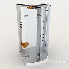 家居玻璃沐浴房3d模型下载