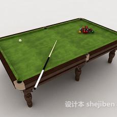 常见台球桌3d模型下载