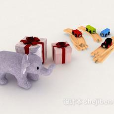 礼物盒、玩具3d模型下载