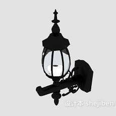 古老欧式壁灯3d模型下载