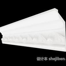 简约石膏线3d模型下载