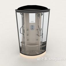 隔间沐浴房3d模型下载