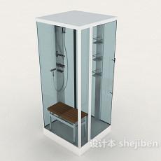浴室、冲凉房3d模型下载