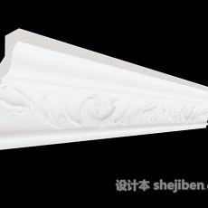 居家简约石膏线3d模型下载