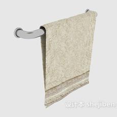 洗脸毛巾3d模型下载