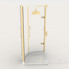 简约居家浴室房3d模型下载