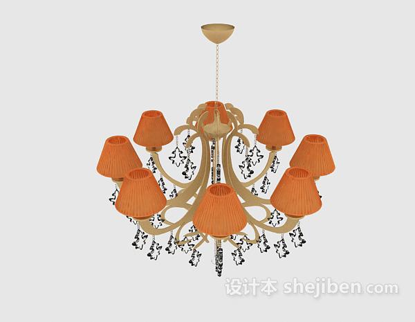现代客厅家具吊灯