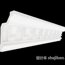 构件石膏线3d模型下载