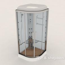 酒店独立浴室3d模型下载