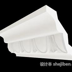 家居常见石膏线3d模型下载