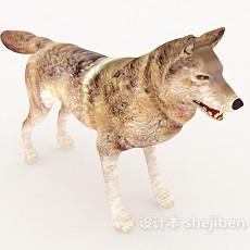 狼3d模型下载