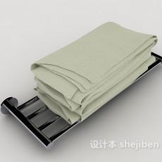 沐浴浴巾3d模型下载