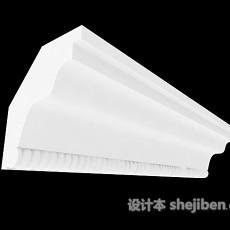 家居构件石膏线3d模型下载