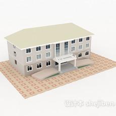 家庭别墅3d模型下载