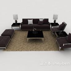 新古典风格组合沙发3d模型下载