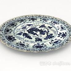 瓷器碗具3d模型下载