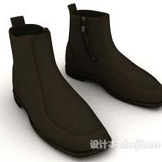 牛皮短靴3d模型下载