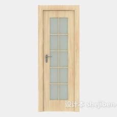 沐浴室房门3d模型下载