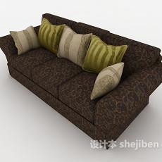 家居三人沙发3d模型下载