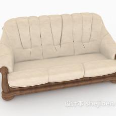 欧式古典多人沙发3d模型下载