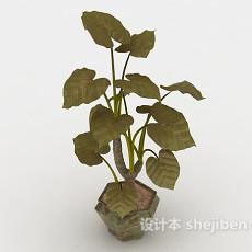 小盆景3d模型下载