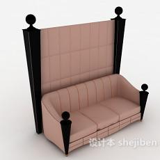 新古典多人沙发3d模型下载